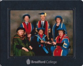 Imtaz receives honourary fellowship from Bradford College