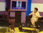 Imtaz on Oh TV with Rosemary Laryea